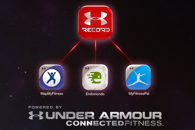 Under Armour Endomondo MyFitnessPal MapMyFitness
